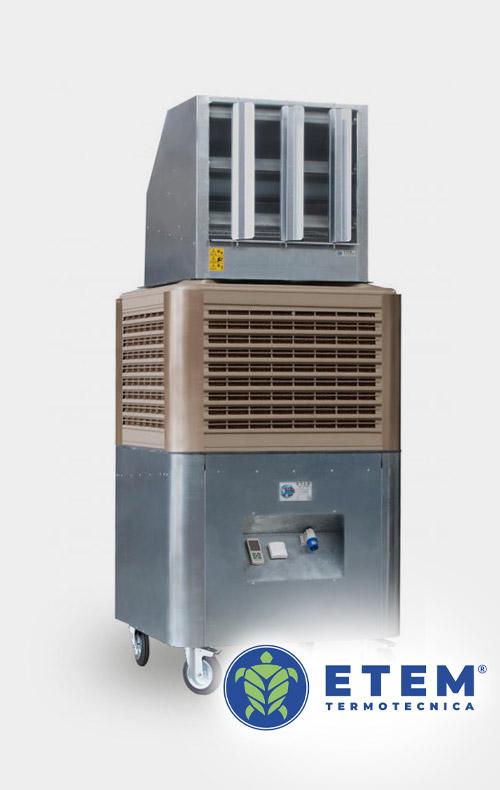 Raffrescamento evaporativo adiabatico: il pi antico sistema